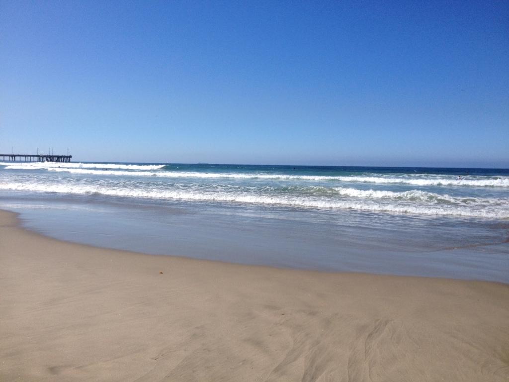 My Walk on Santa Monica Beach