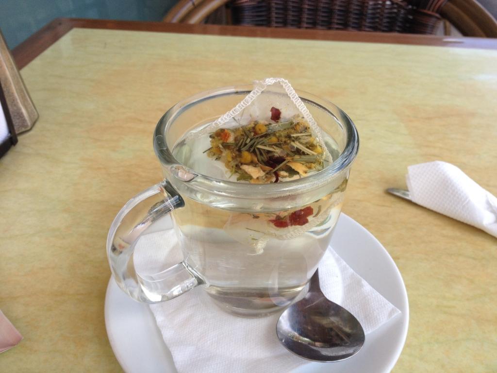 Enjoy a Cup of Herbal Tea